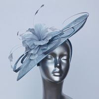 Light Grey Mother of the Bride Hatinator 13103/SD299